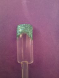 sea green glitter