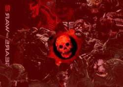 Gears of War Cut-Outs