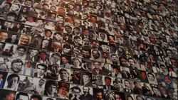 Wall of Dead Journalists in Newseum