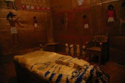 Another view of our Ancient Egyptian tomb