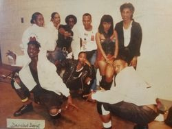 LA Reid and Babyface First Recording Artist Damian Dame with Dancers Before TLC Chill was a Dancer