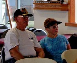 Jon & Shirley Hayes, visiting from Durand, Mi