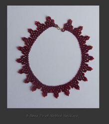 Beaded 3 Point Necklaced