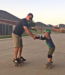 Skate lessons from the expert!