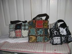 RAG QUILT PURSES - $35 PLUS SHIPPING