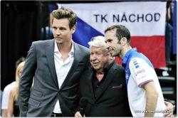 Tomas Berdych, Miroslav Cernosek, Radek Stepanek
