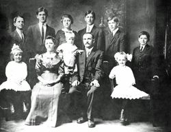 Albert Lapsansky (Lapshan) family