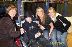 Margo, Cheryl and Trisha visit Mike