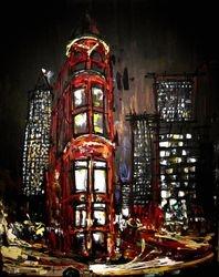"""Toronto Flat Iron Building"""