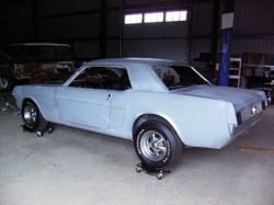 58. 65 Mustang