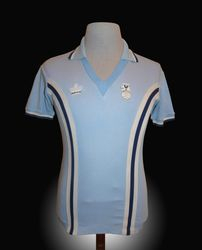 Admiral Match Worn Coventry City Shirt 1979