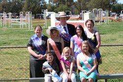 Showgirl and Rural Ambassador Winners