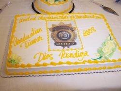 Graduation Dinner Cake