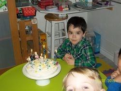 Bonne fête Luc 5 ans