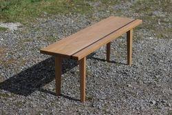Solid Oak Bench