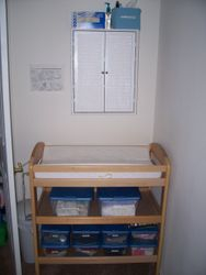 Our Diaper Changing Station