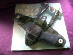 Vampire Aircraft Cake