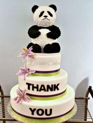 Corporate Event - Telus Panda Bear Cake