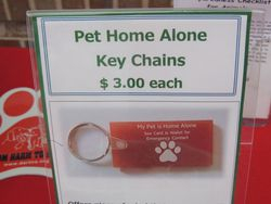 Pet Home Alone Key Chains