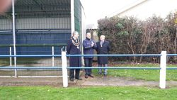 Official Opening Ceremony - Dai Coles Gates