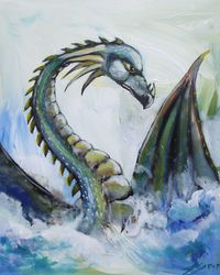 Splash Dragon