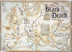 The Black Death Map.