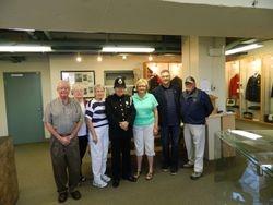 Region 16 President visits Saint John Police Museum