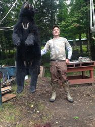 Schultzy with a real nice bear