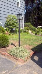 Installation of an Outdoor Post Light