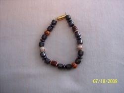 man's all sports magnetic hemantite bracelet