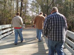Touring Moores Creek Bridge