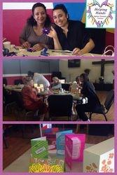 Card making and ribbon sculpture