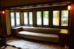 Existing built-in couch - 1910