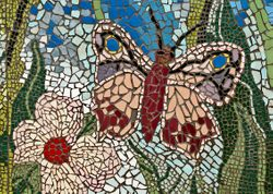 Butterfly Mosaic (detail)