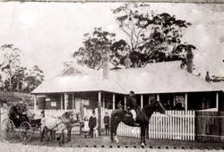 Batemans Bay Police Station and Courthouse, c1906