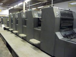 Heidelberg Speed Master 74-5-LX Year 1997