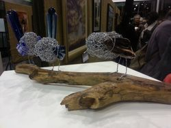 Lee McGill local glass artist