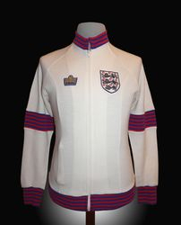 Admiral Match Worn England Players Warm Up Tracksuit