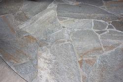 Flagstone set in mortar