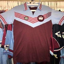 1978 Pat Holland worn home shirt.