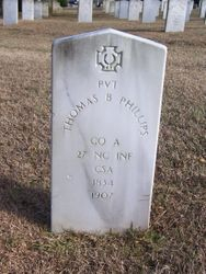 PHILLIPS, THOMAS B., Private, Co. A