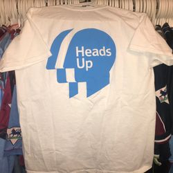Heads up campaign warm up t shirt