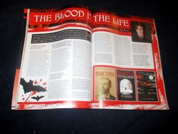 First Page Spread of The Blood is the Life in Starburst Magazine #475: The Mandalorian Collectors¿ Edition at The Wombatorium 2.0: A Capital Idea