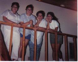 Vicky Lee Dunn, Susan Irene Dunn, April Love Dunn, Marilyn Kyde Dunn