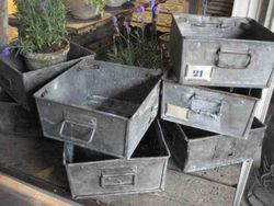 #13/239 Sq. 8 Galvanized Boxes SOLD