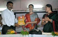Manwta Bhushan award at jejuri