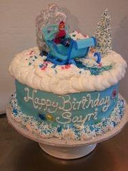 Winter Princess Cake