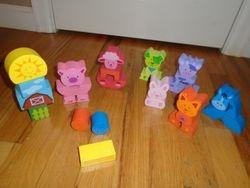 PBS Kids Wood Blocks- 30 Piece Animal Set - $17