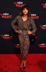 Demetria McKinney attend a special screening of 'What Men Want' at Regal Atlantic Station
