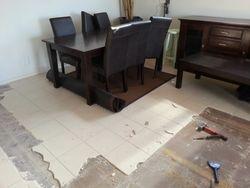 Dining area-work in progress
